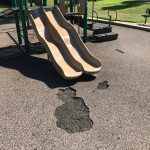 Damaged Playground Surface